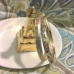 Set of bangle bracelets - 2 for $60